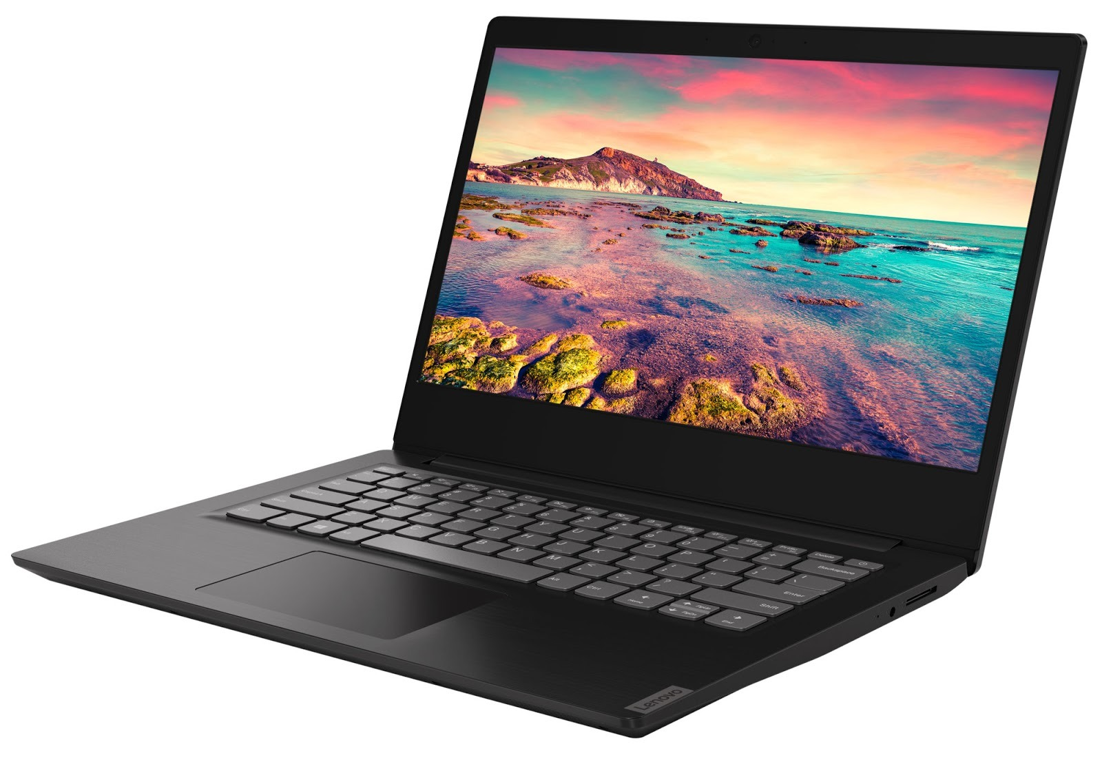 Фото 1. Ноутбук Lenovo ideapad S145-15IWL Granite Black (81MV00QFRA)